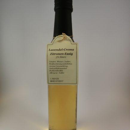 lavendel-crema-zitronen-essig